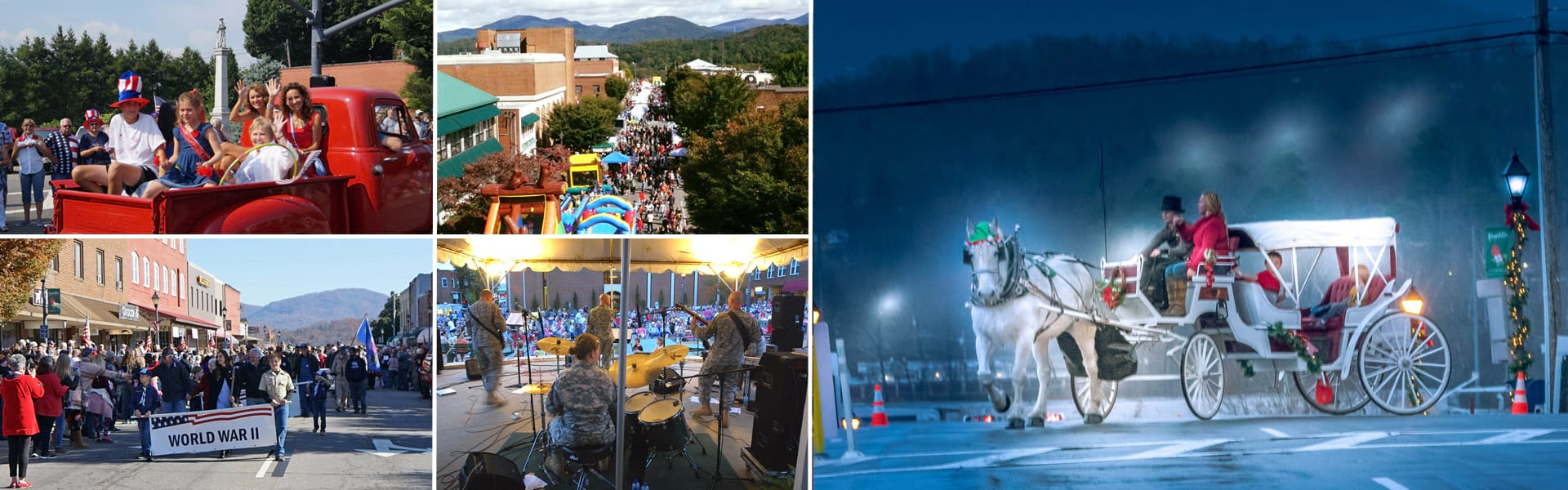 town of franklin north carolina festivals events