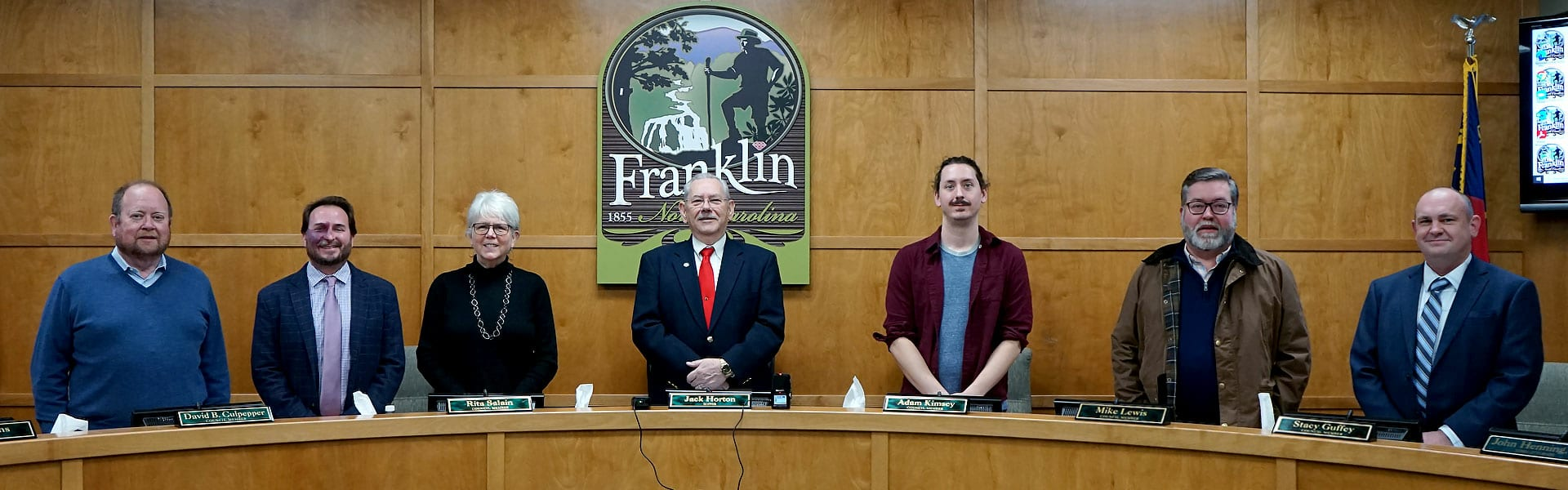 franklin north carolina town council