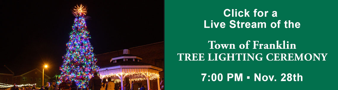 franklin nc tree lighting live stream